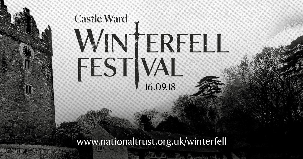 Winterfell Festival is here - book your tickets now for the biggest event this side of Essos #winterfellfestival nationaltrust.org.uk/winterfell @NITouristBoard @DiscoverNI @VisitBelfast