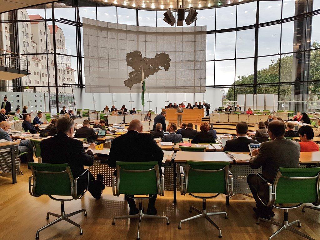 Sächsischer Landtag on Twitter: \
