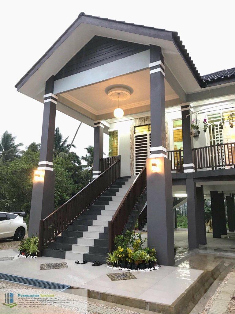 Inshaa Nanti Nak Buat Rumah Macam Ni Juga Tengok Kampung Tapi Dalam Masa Yang Sama Moden Sesuai Lah