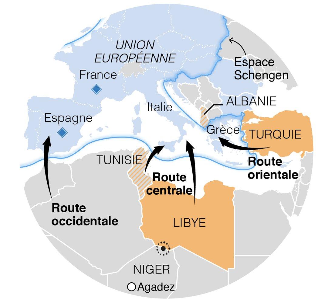 Le Monde En Cartes On Twitter Ensuite La Fermeture Des