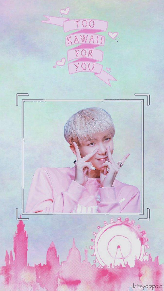 Cute Namjoon Wallpaper Lockscreen This Is My Edit I Edited It