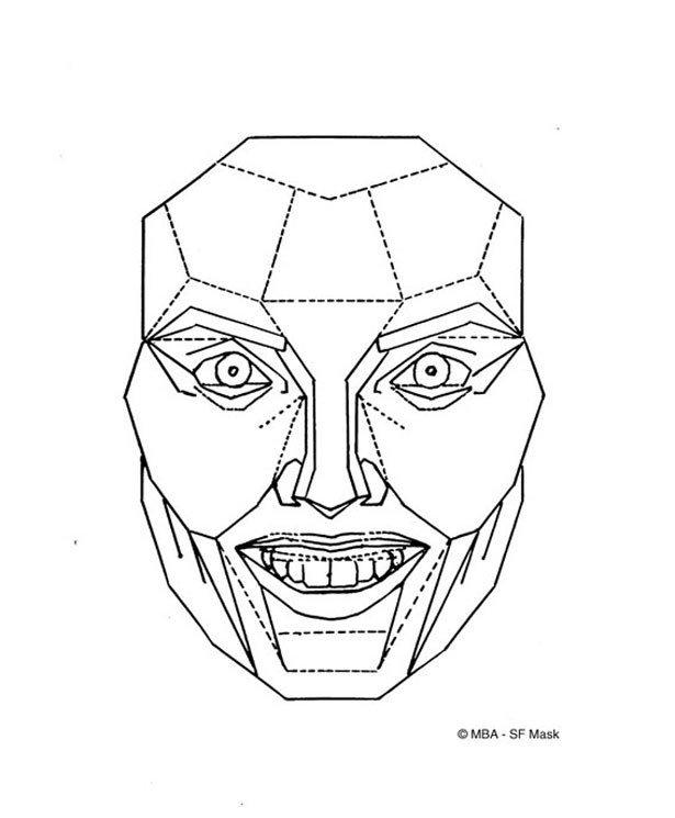 マスク 黄金 比