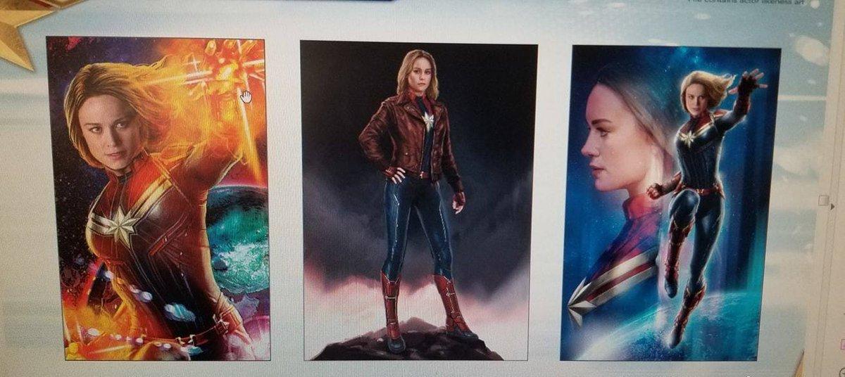 Captain Marvel - Leaked Promo Art