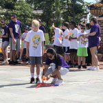 3, 2, 1 blast off! 🚀 Students participating in @hpuschoolofed STEM Camp this week launched their rockets today! #MyMajorAtHPU #STEM