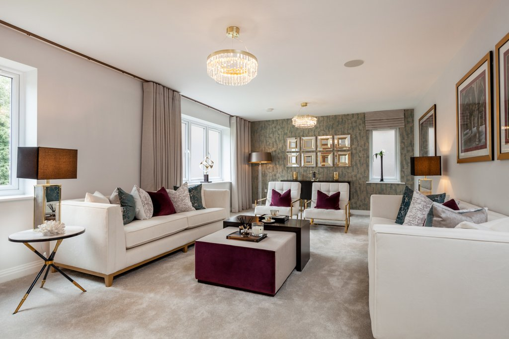 Highlands Park, An Elegant Development In The Historic Henley On Thames,  Has Two Brand New Luxury Show Homes Available To View Now.