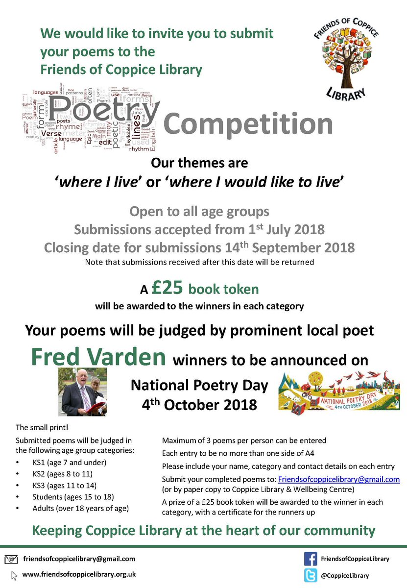 amateur competition poetry national The