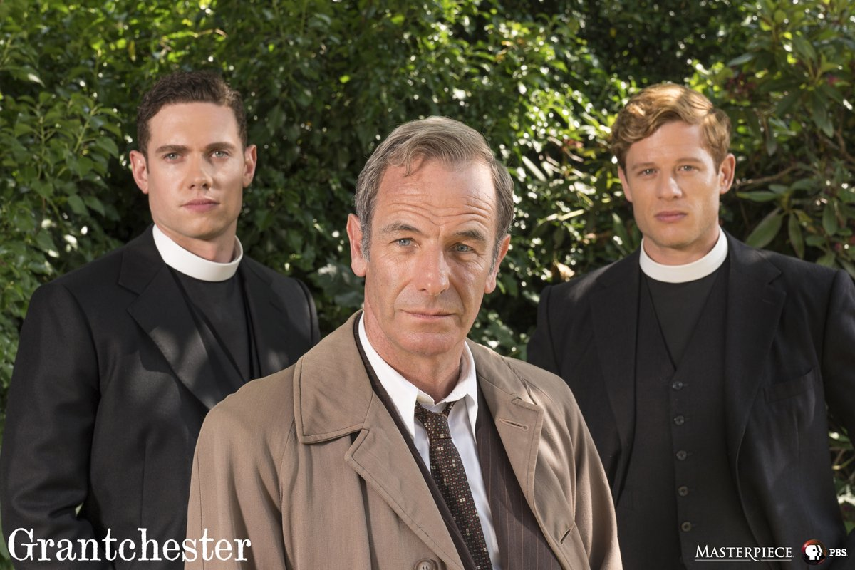 Extremely excited to announce that @tombrittney will be joining the cast of #Grantchester as the new Reverend. Will Davenport! Check out the first look below. https://t.co/Q5mtoMeC6a