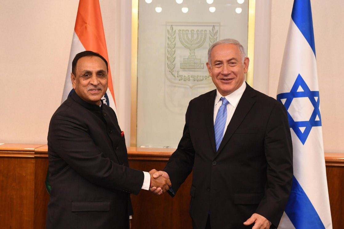 Gujarat to confer minority status to Jews in the State: Chief Minister Rupani to Israel Prime Minister Netanyahu in Jerusalem