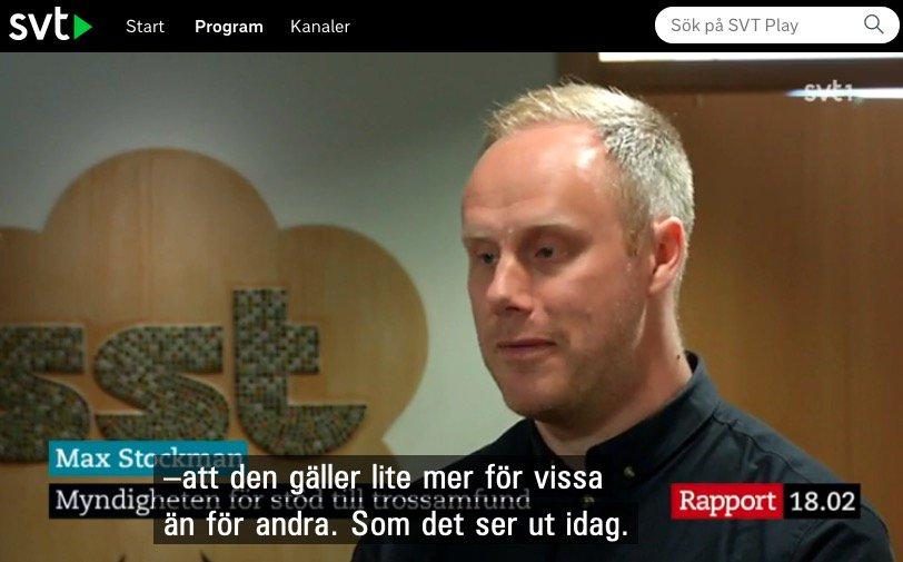 Varje vecka attackeras nagon svensk moske