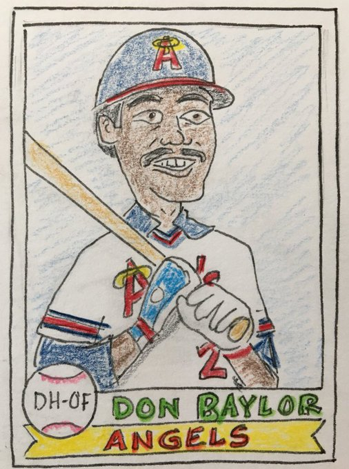 Happy BDay to the late Don Baylor. MVP!