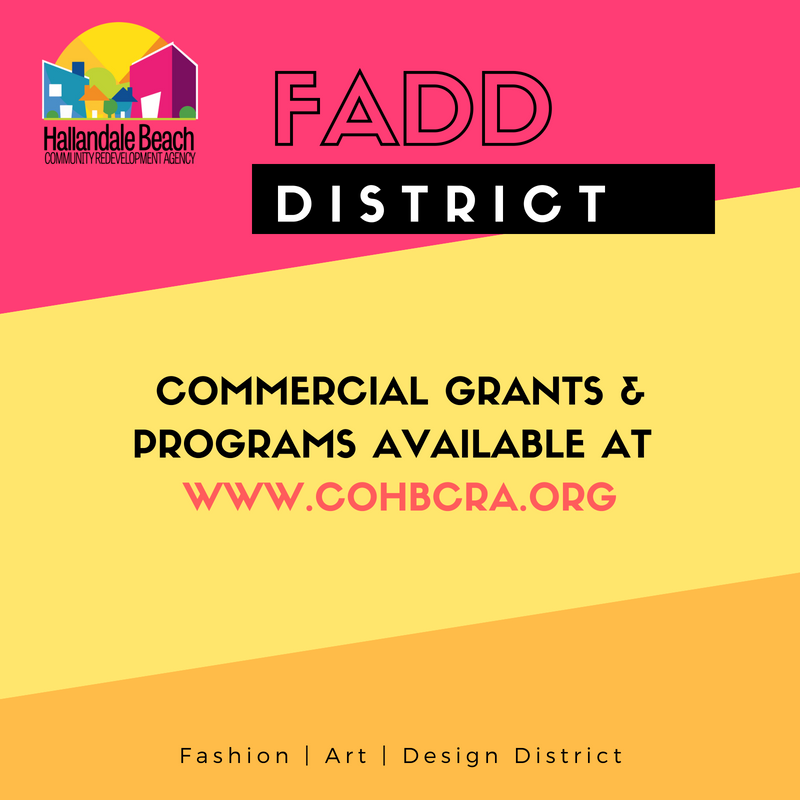 Hallandale Beach Cra On Twitter We Have A Wonderful Set Of Commercial Programs Available Please See Https T Co Qbxn5ddby3 Commercial Business Entrepreneur Fadddistrict Fadd Hallandale Hallandalebeach Investors Investment Biz Developer