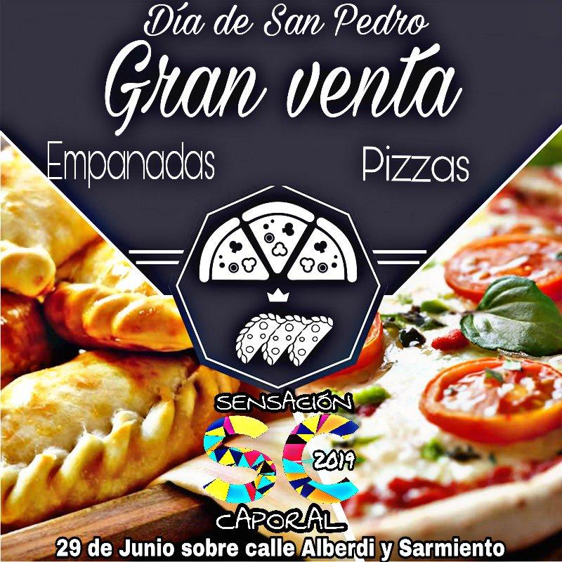 Gran venta de #empanas y #pizzas Día de Nuestro Santo Patrono SAN PEDRO #Jujuy