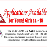 Don't miss your chance to submit your 2018-19 CJA Delta GEMS application. The Delta GEMS program helps young women Grow & Empower Themselves!  Middlessex, Somerset & Union county students may apply by June 30, 2018. Questions? Contact GEMS@cjadeltas.org.  https://t.co/dGT6U6LwaY