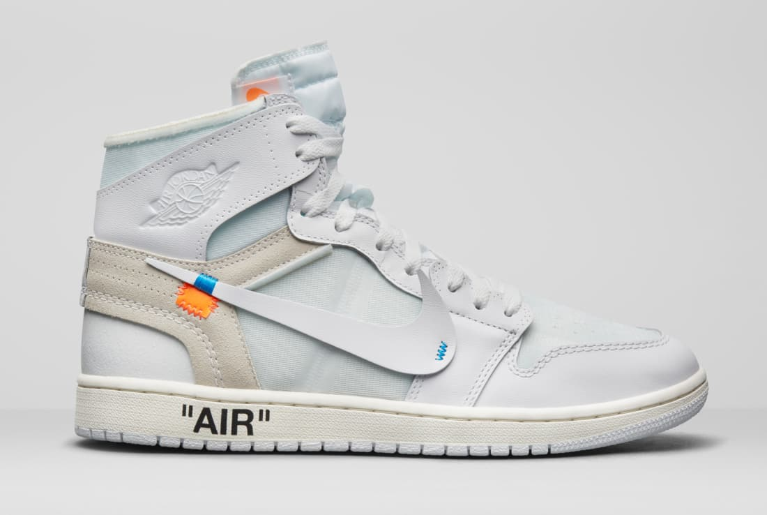 competitive price 26eaa 1d2ec 3️⃣: off-white x air jordan 1 retail price: $190 resale ...