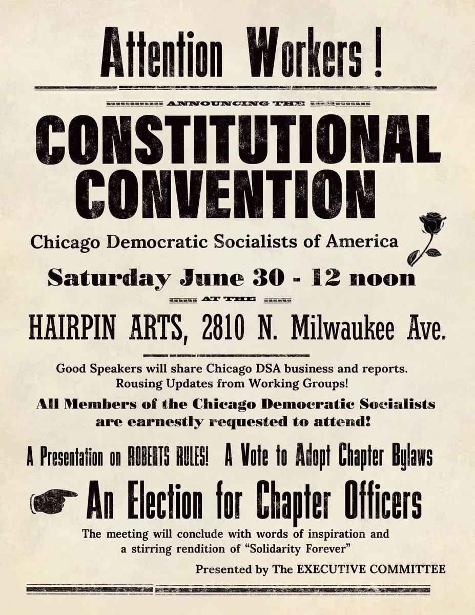 Chicago DSA 🌹 on Twitter: