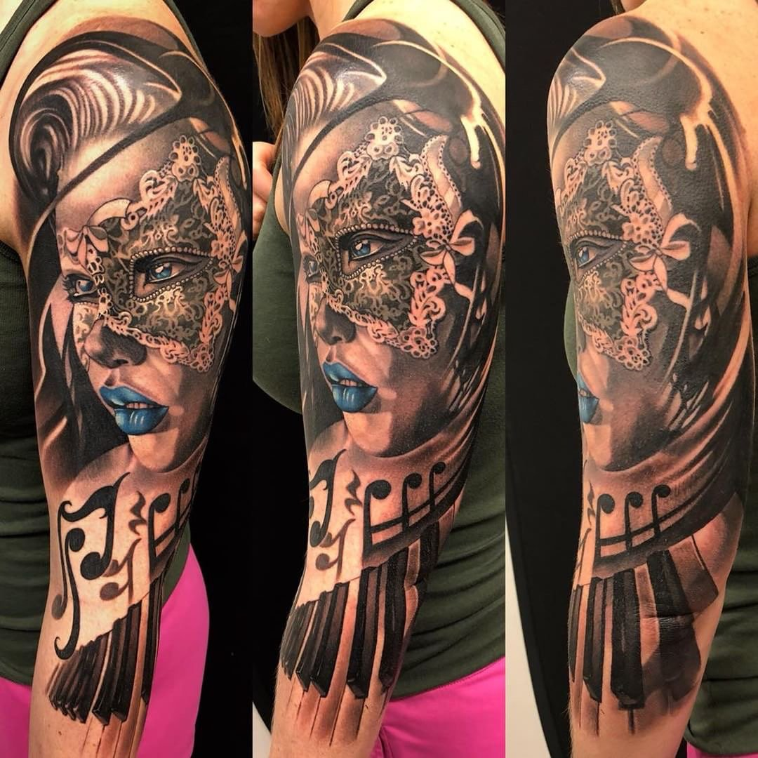 Ink Master On Twitter Can You Believe This Three Quarter Sleeve By