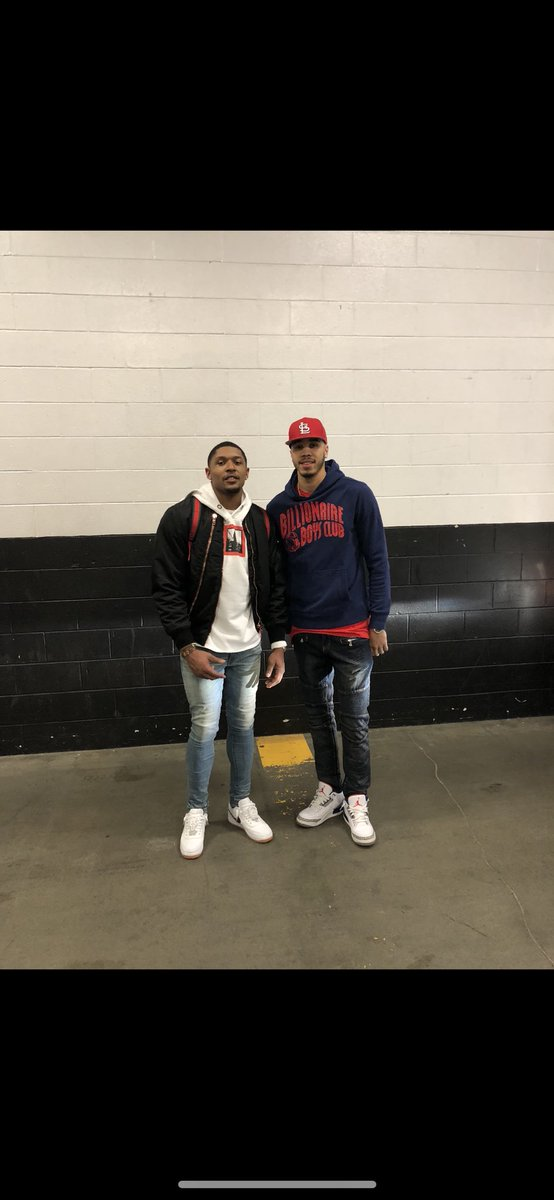 My role model growing up! Thanks for everything B! Wouldn't be here without you! Happy birthday @RealDealBeal23 🙏🏽