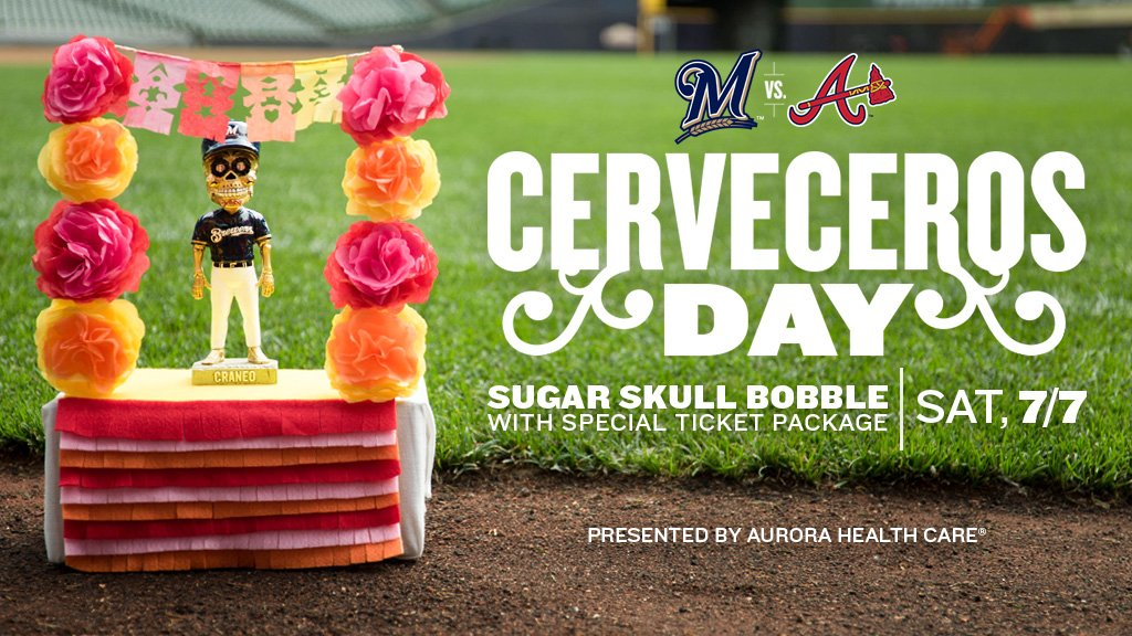 4906e7967 The Brewers will sport special Cerveceros uniforms for their confrontación  with Los Bravos; plus, take part in this special ticket package at ...