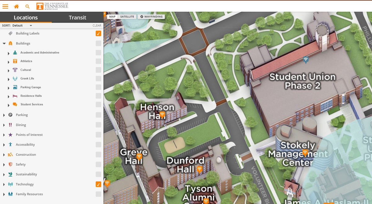 Ut Oit On Twitter Love Love Love The New Interactive Campus Map