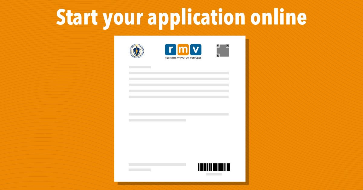 Wondering if you need a REAL ID? Learn more about REAL ID at http://www.mass.gov/ID . Then start your application online to get or renew your driver's ...