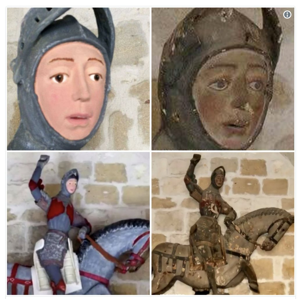 "Ingrid Elfver on Twitter: ""A priceless, religious sculpture gets ..."