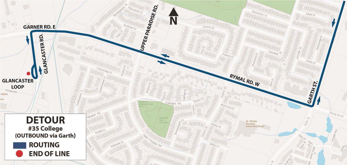 map of st elizabeth village hamilton Hamilton Street Railway On Twitter Hsralert Hsr35 Will Be On map of st elizabeth village hamilton