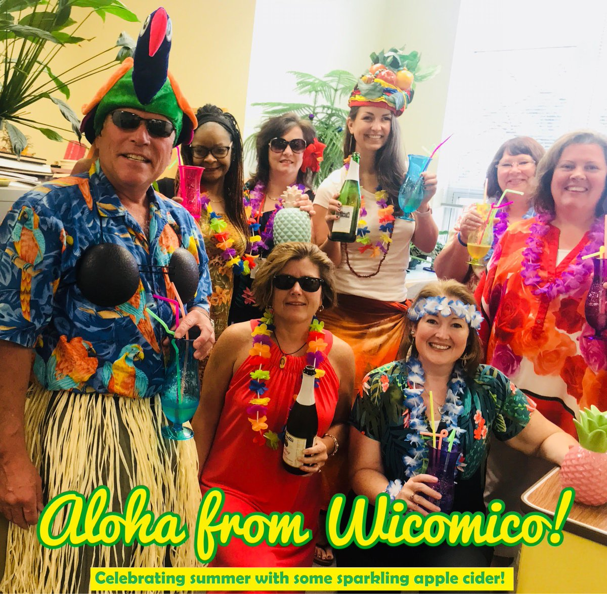 92f856d3c1 Check out the fantastic photos of our local assessment offices sporting  their Hawaiian shirts