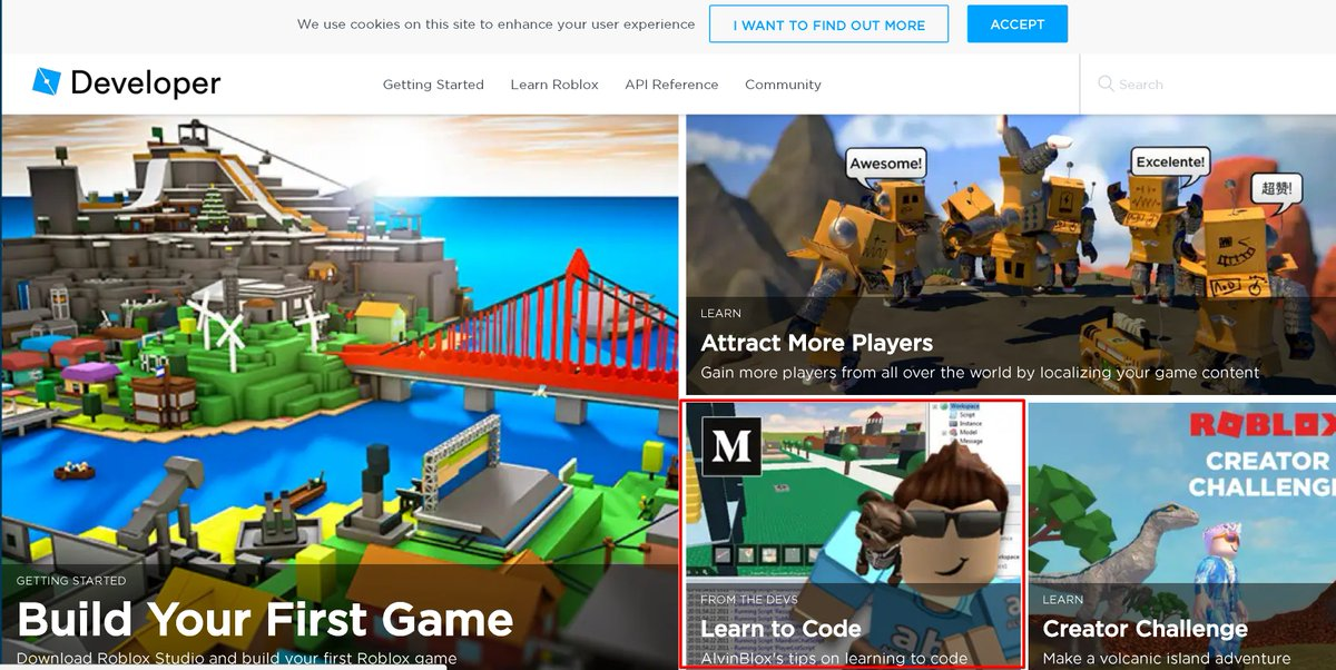 im thrilled to be on the cover of the new site talking about how beginner scripters can get started roblox robloxdevpictwittercom4k18l2pvjz