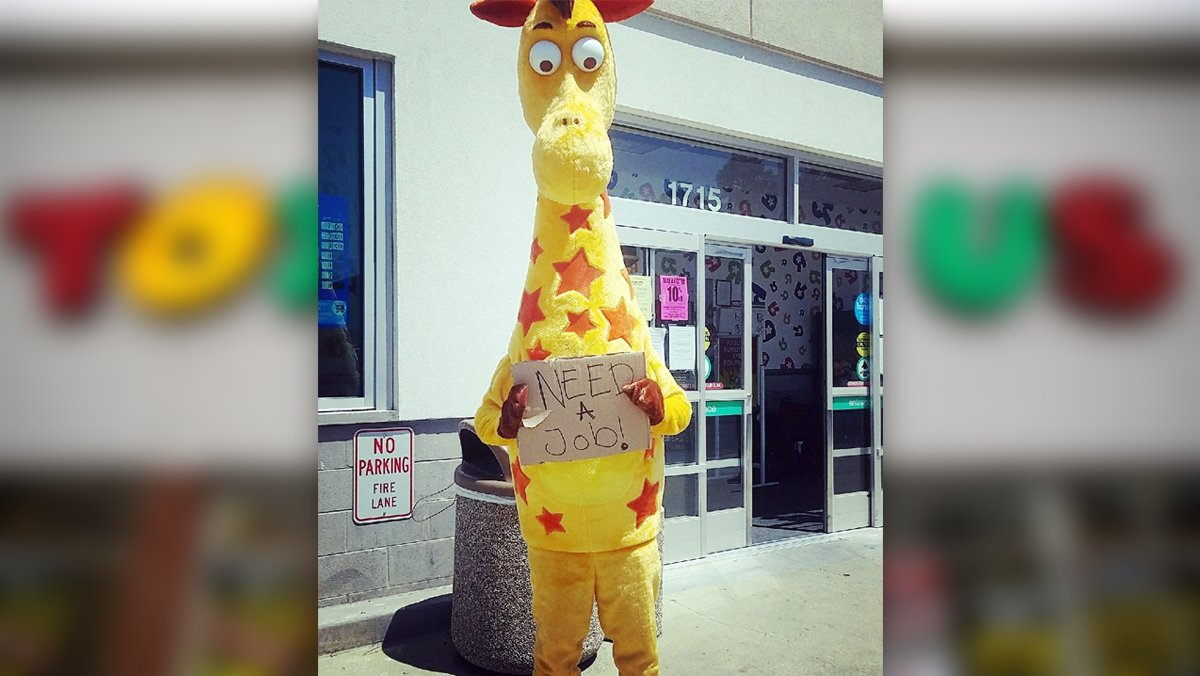Poor Guy Geoffrey Giraffe S 53 Year Career At Toys R Us Is Over