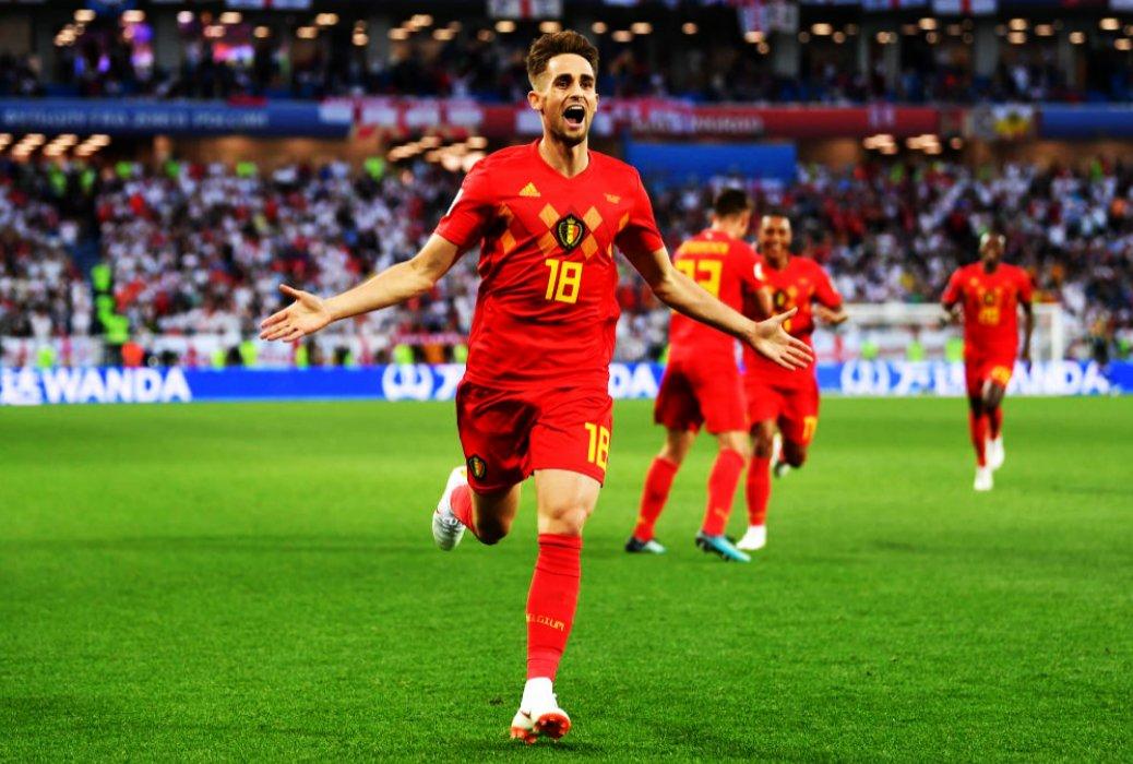 Bélgica gana 1-0 ante Inglaterra