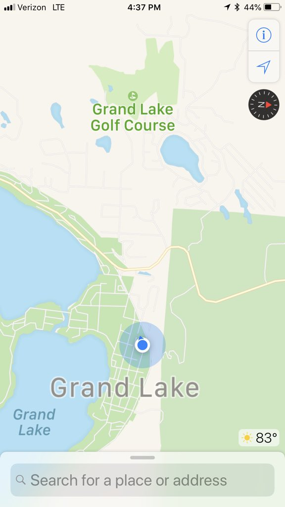 Grand Lake Fire Map.Grand Lake Fire On Twitter Everything North Of County Road 48 And