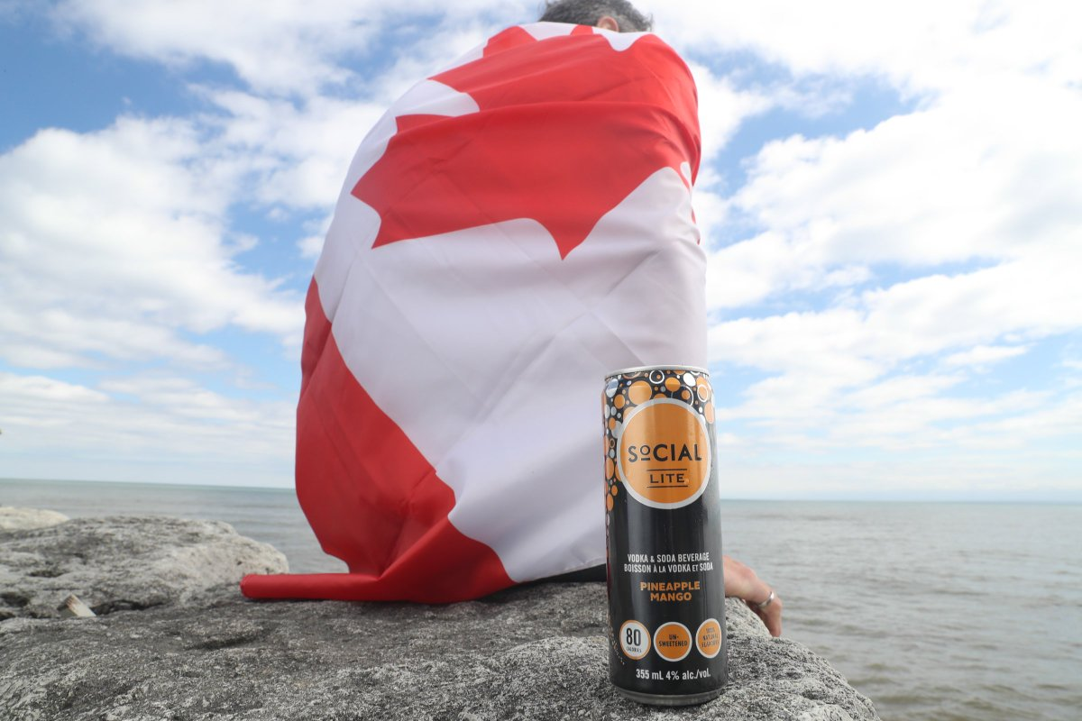 We're proud to be #Canada's #1 #VodkaSoda and the first North American company to create a drink with no sugar and no sweetener. Leading into #CanadaDay, we want to thank all of our followers for creating a better-for-you #cocktail revolution! RT if you ❤️ #SoCIALLITE! 🇨🇦 https://t.co/GaVqhB77k3