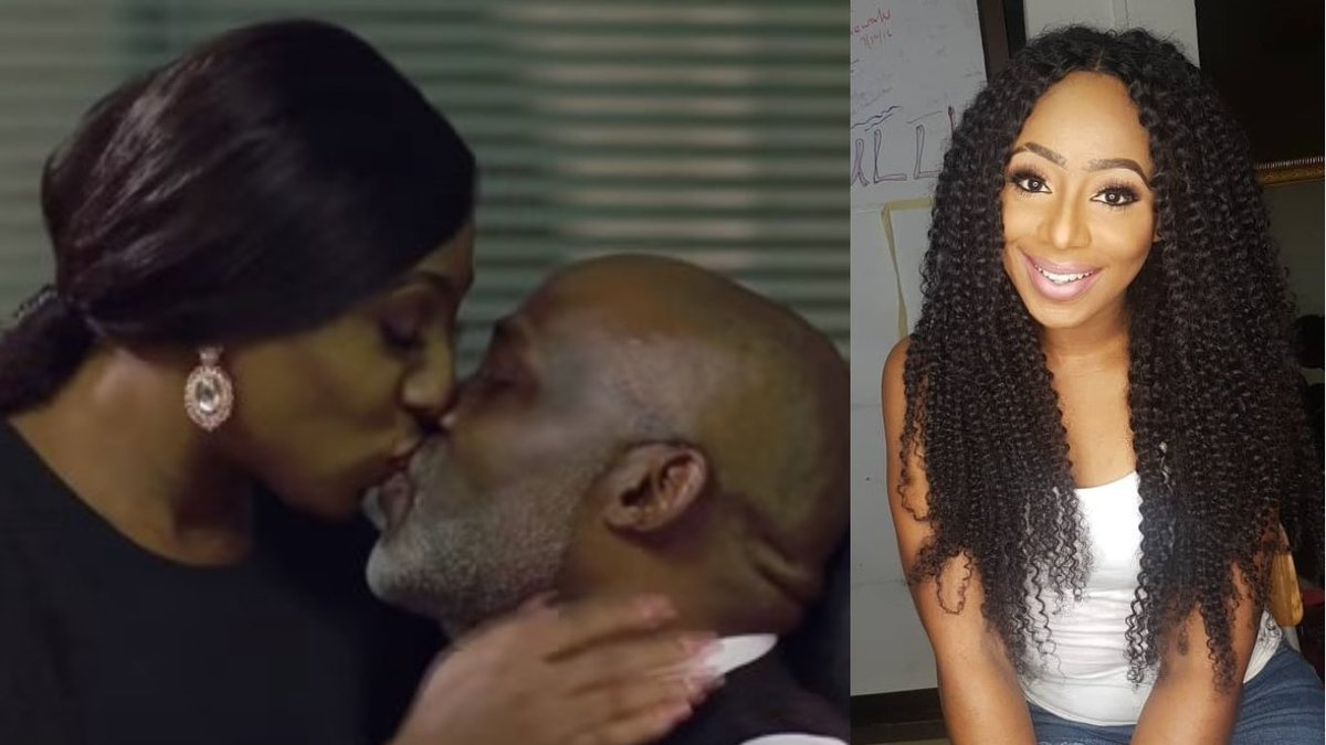 Image result for Just A Kiss With RMD Comes With The Job – Actress, Dakore Akande