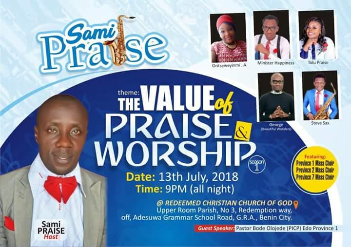 How Benin Praise God