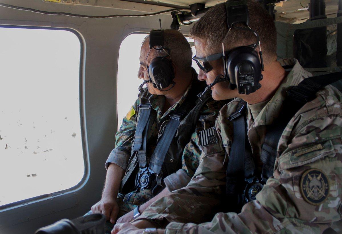 قوات سوريا الديمقراطيه ( قسد ) .......نظرة عسكريه .......ومستقبليه  Dh-DJk2V4AEsiRI