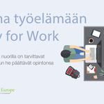 Image for the Tweet beginning: Vuosi yrittäjänä -ohjelma tarjoaa nuorille