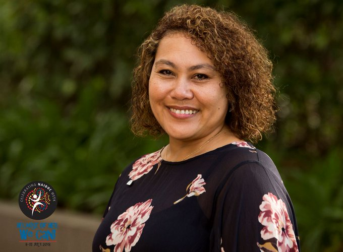 Today's #NAIDOC2018 spotlight features our CEO Ms Karen Mundine - a Bundjalung woman from northern NSW who has been instrumental in some of Australia's watershed national events: #BecauseofHerWeCan Photo