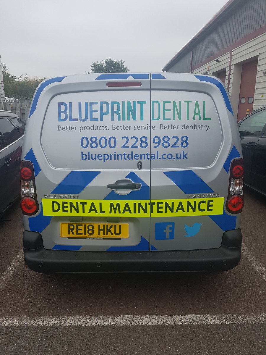 Blueprint dental blueprintdental twitter one of our field service engineer vans that make up the new fleet of eco friendly vehicles we have procured recently to help reduce our carbon footprint malvernweather Image collections