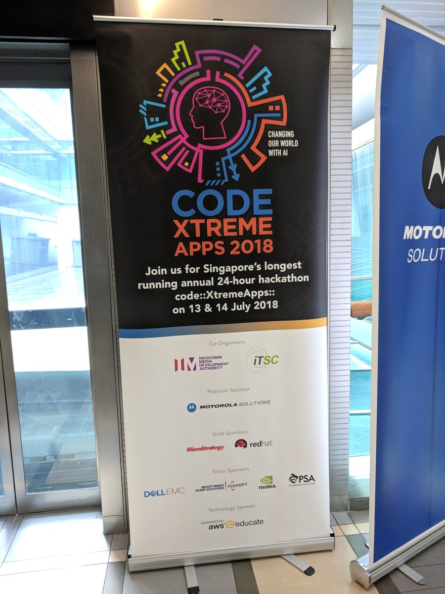 And they are off! 12th edition of code::XtremeApp 24hr programming contest. This year it is about AI. Check out http://machinelearningforkids.co.uk that is using Scratch and ML via IBM Watson  #RedHatpic.twitter.com/mYAKJiPZTw