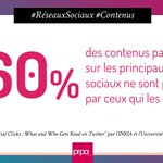 Image for the Tweet beginning: #RéseauxSociaux ► A force de