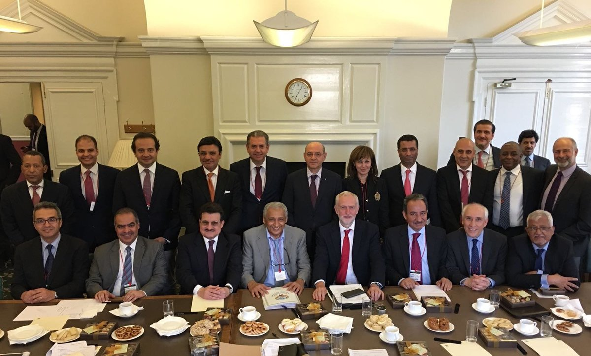 Earlier this week I met Arab ambassadors from across the region. We spoke about how to work together on a range of issues including the refugee crisis, ending conflict and building peace.