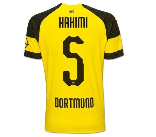 Maillot THIRD Borussia Dortmund Achraf Hakimi