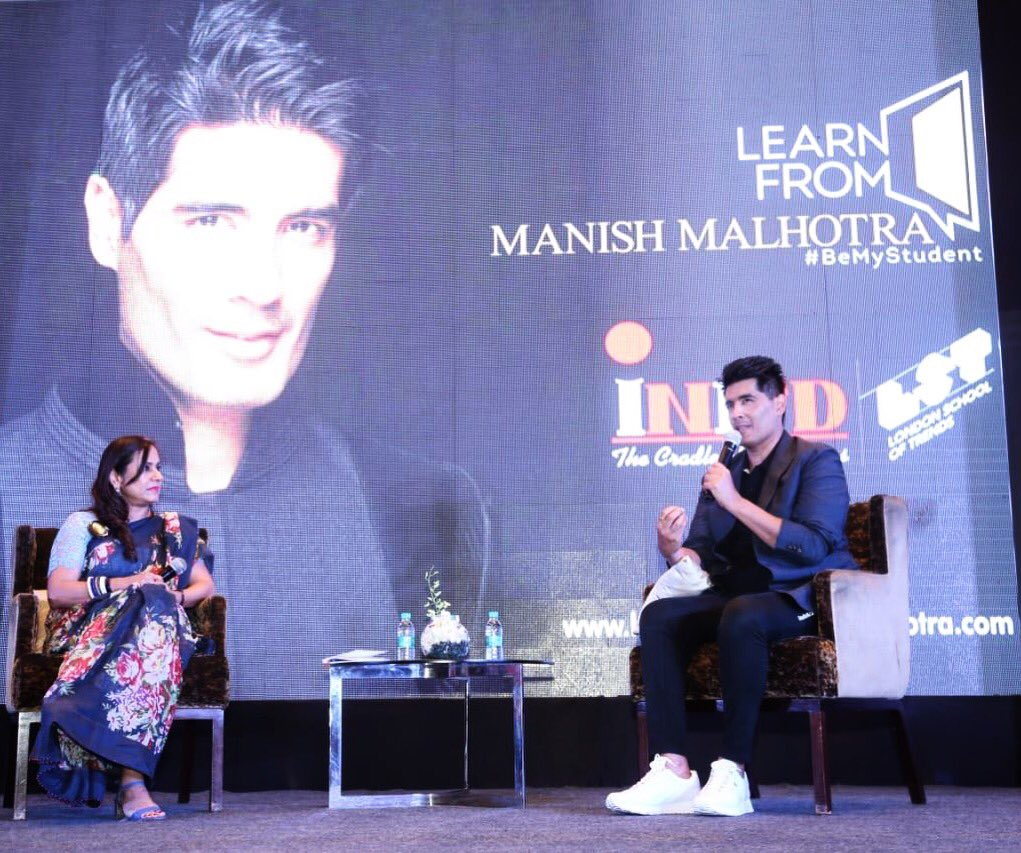 Manish Malhotra On Twitter Had A Great Day In Chandigarh Talking To Shefatwork About My New Venture Learnfrommanishmalhotra An Online Fashion Course Corporateinifd Learnfrommanish Lstlondon Https T Co Txjunznuzp