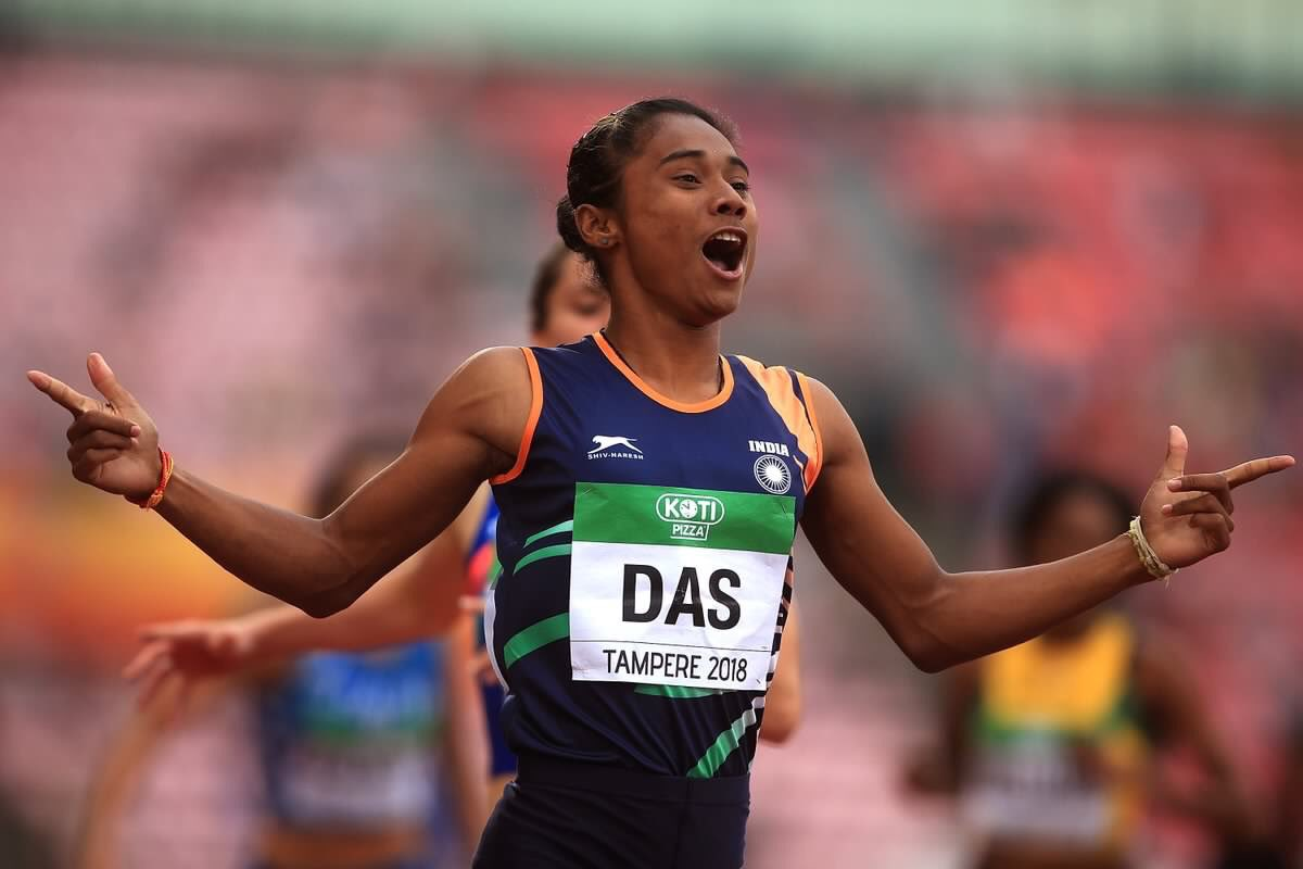 Heartiest congratulations to the young sprinter #HimaDas for this path-breaking achievement of being the 1st Indian to win GOLD at the IAAF World Championships under-20 event. Wish her all the success in life.