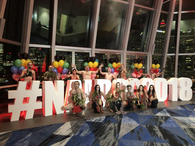 Festivities are well underway at the NAIDOC Awards! #NAIDOC2018 LIVE on NITV (Ch. 34) from 7:30pm! Photo