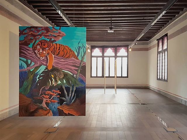 #FrancescoMaluta #totoaba #painting #TrevisoRicercaArte #Treviso #FigurativePainting #ContemporaryArt https://t.co/Kwn4GjR1gg