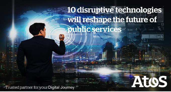 10 disruptive Technologien werden die Zukunft der öffentlichen Dienste neu gestalten....