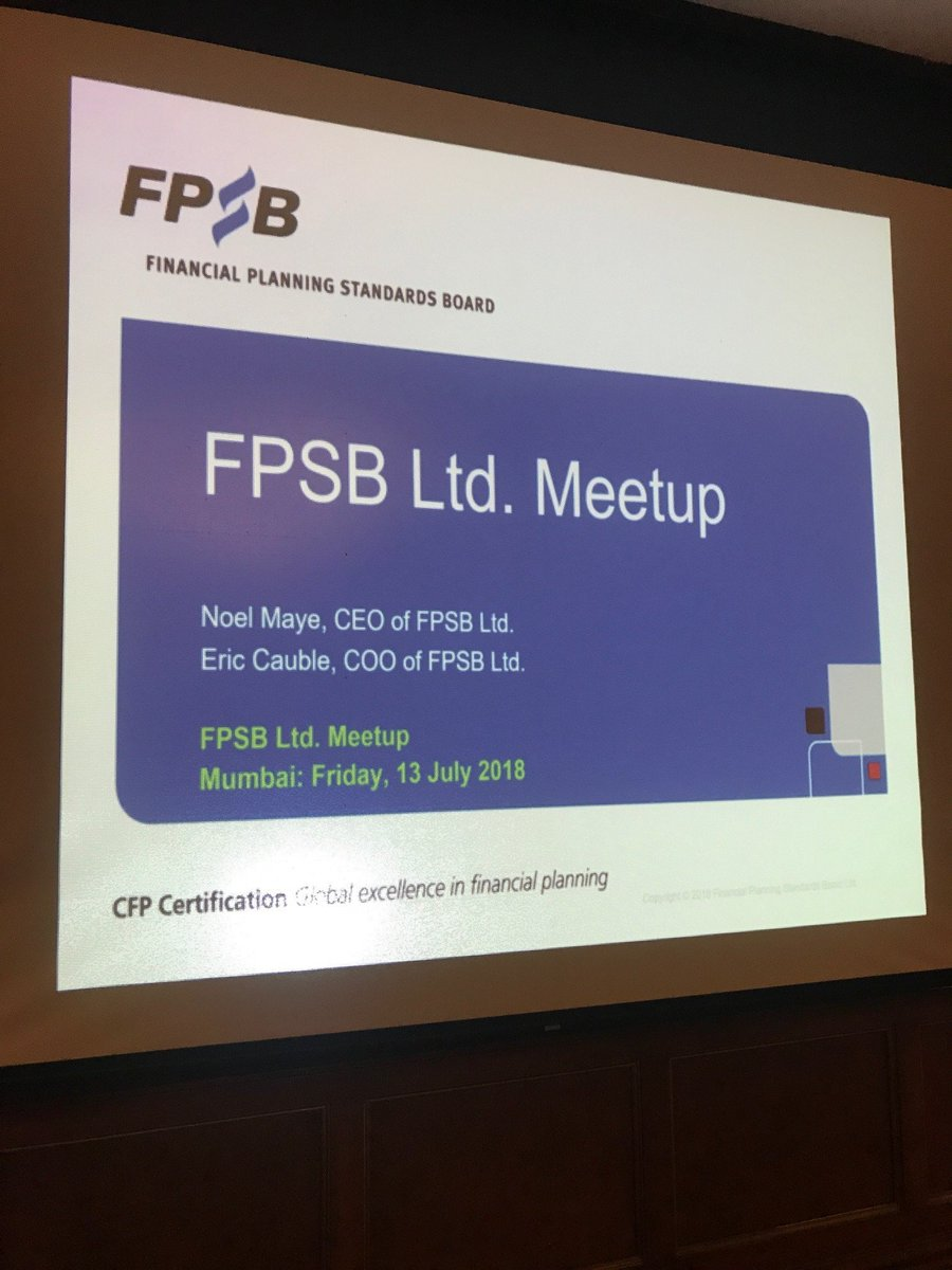 Fpsb Ltd On Twitter Getting Ready To Meet 200 Cfp Professionals