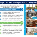 Want to Sell Your House Faster? Don't Forget to Stage! [INFOGRAPHIC] https://t.co/ytgpc28Hxu