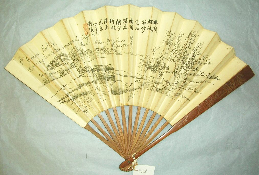 Dating hand fan
